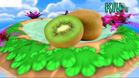 为幼儿学习水果名称学前水果名称为儿童学习视频教育