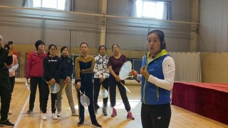 2019晋中市校园柔力球骨干培训班王永萍老师讲解比赛规则和要求