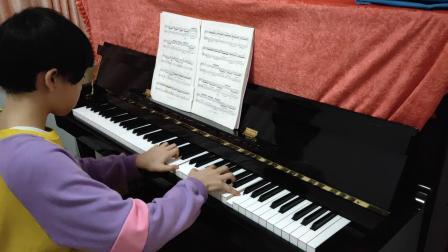 刘若菲八级钢琴曲    花纹     西贝柳斯曲