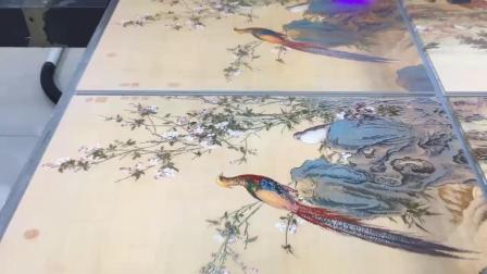 imaxcan/迈创彩印瓷砖背景墙UV平板打印机,瓷砖大理石UV印刷打印机