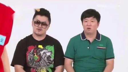 exo黄子韬在韩国的综艺上表演武术,第一次失误