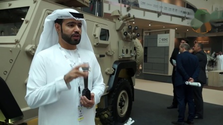 IDEX19年NIMR Automotive Launches new AJBAN 447A 4x4 Multi-Role装甲车
