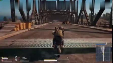 绝地求生搞笑视频-这摩托车骑的太厉害了!已到