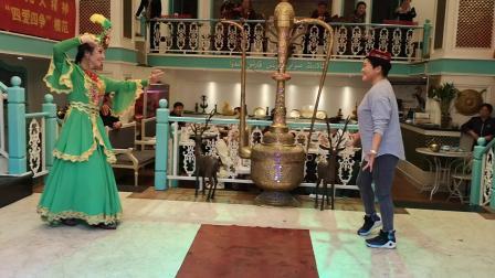 [舞心]南京陶薇宝鸡米娜阿拉丁新疆餐厅表演双人舞