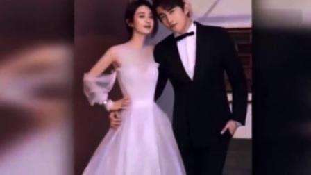 赵丽颖和林更新拍杂志就跟拍婚纱照似的,一个帅呆一个美爆