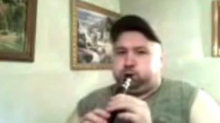 《施瓦莫》 俄罗斯小伙子bB调8孔小萨简易迷你口袋萨克斯吹奏