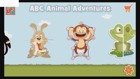 婴儿13学习的动物冒险游戏学前儿童学习游戏的乐趣