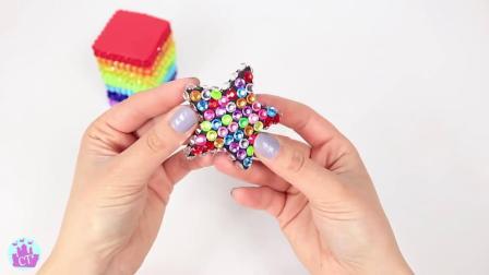 DIY用橡皮泥教宝宝做彩虹蛋糕