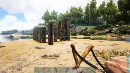 「帝哥」方舟生存进化:荒岛求生EP3,如何制作麻醉箭驯服三角龙