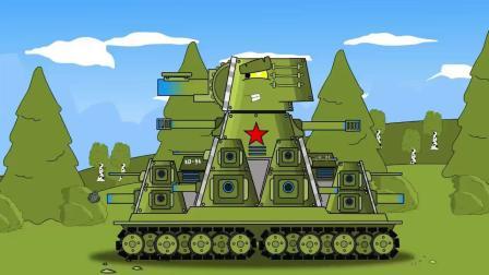 坦克世界搞笑动画:鳄鱼坦克大战游戏