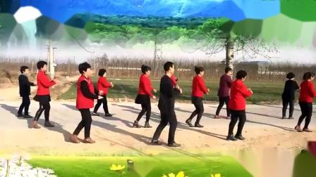 定州强哥广场舞《走天涯》