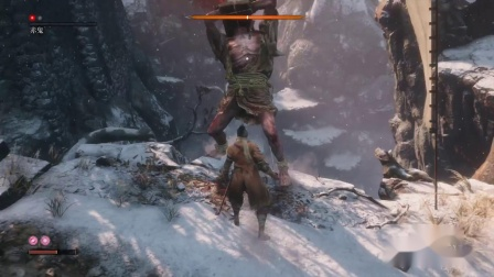 【转载】《只狼影逝二度》全精英敌人忍合集6.赤鬼 虎口阶梯