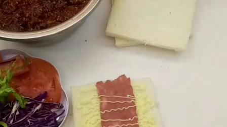早餐必备的面包主食-- 精致的吐司三明治做法配方