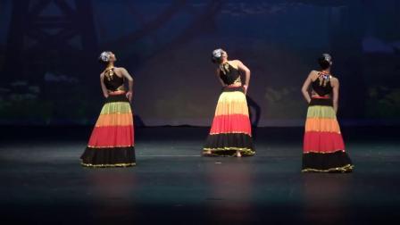 舞林大会-20181030-少数民族舞蹈群舞《索玛花开》特色彝族舞蹈视频