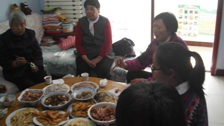 家人祝福90岁老人生日快乐
