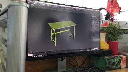 3D加粗方桌切角