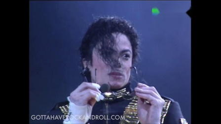 Michael Jackson never before seen Royal Concert footage for Sultan