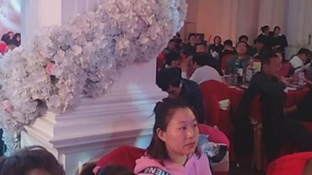 赵萌,贾春萌,婚礼进行中,蓝调庄园。