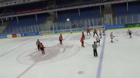 20182019北京市青少年冰球俱乐部联赛U12竞技组三四名决赛华星国际07队VS华星国际06队第2节