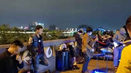《xxxx》~变态鼓手文锅 ~桃源桥底路演记录~2019年3月23日