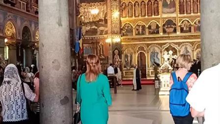 2018.7.6罗马尼亚锡比乌东正教大教堂弥撒