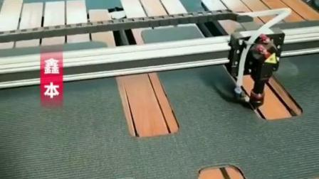 鑫本数控木纹脚垫汽车实木脚垫切割机