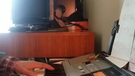 电子琴演奏练习-故乡的亲人