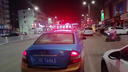 滑县300辆出租车顶灯广告