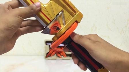 [大鹏评测]侍战队日版DX 兜折神 合体真剑者, 对比忍风战队, 特命战队甲虫