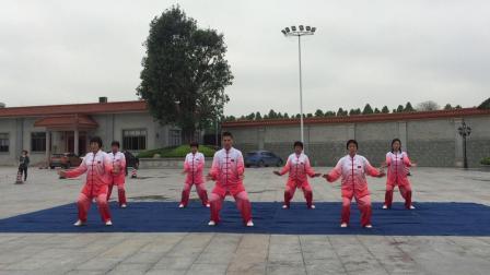 海州队表演:健身气功大舞👍