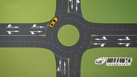 环岛路口到底该怎么走?老司机亲授经验,很适合新手-易车