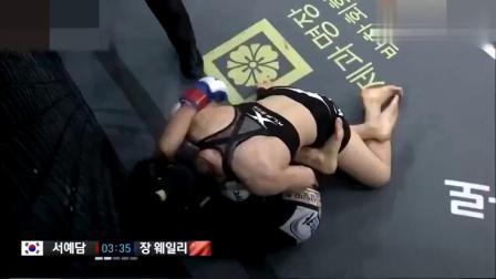 这是厉害了!中国姑娘砸拳比李景亮还狠,韩国