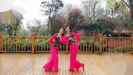 湘女广场舞《花仙子》制作:湘女王 演绎:林琳、湘女王 编舞:格格