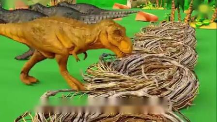 糖果甜心小恐龙认识颜色
