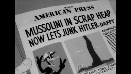 daffy_duck scrap happy daffy 1943