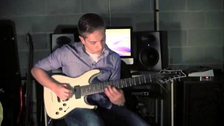 Rings of Saturn - Beckon (Guitar Cover) Sean Gallagher - HD
