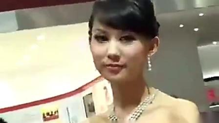 模特魅影 广汽集团展台车模 尽展成熟韵味