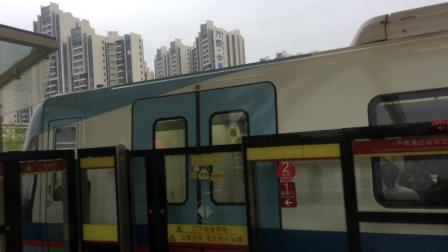 广州地铁5号线05A097-098号车坦尾站下行出站(滘口站方向)