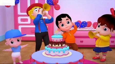 儿童生日快乐歌童谣童谣