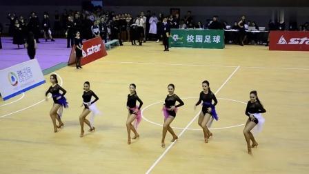 2016成都体育学院拉丁舞比赛-团体舞1