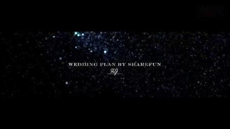 我在2019年3月24日 张越野&蒋瑛 婚礼精剪片截了一段小视频