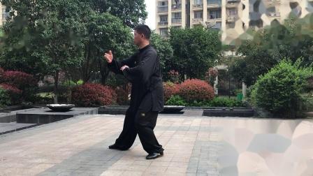 宜兴石志平晨练杨式85第一段