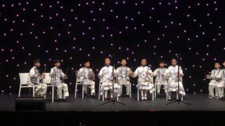 魅力校园第25届中新国际青少年艺术交流盛典《夜深沉》
