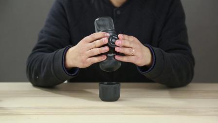 wacaco便携式手动意式咖啡机拆箱操作视频by木木康康精品咖啡馆