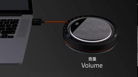 如何使用缤特力Plantronics Calisto 3200 扬声器