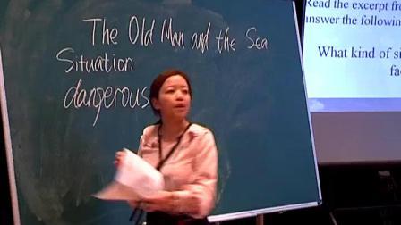 《The old man and the sea》江苏省清江中学【高涛】(2018年江苏省高中英语教学观摩研讨会暨优质课评比活动)