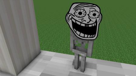 我的世界动画-怪物学-搞笑跳水-Alo Craft