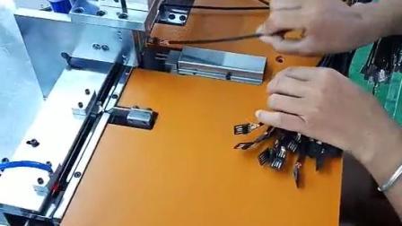 数据线穿壳铆压机