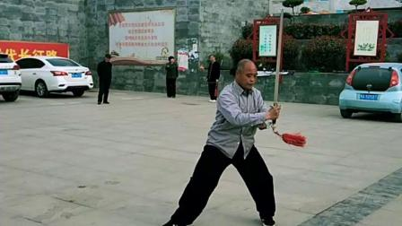 42式太极剑演练