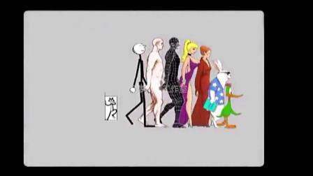 微课《动画角色侧面走》 视频_1